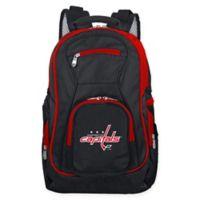 NHL Washington Capitals Laptop Backpack in Black