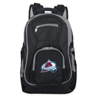 NHL Colorado Avalanche Laptop Backpack in Black