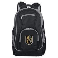 NHL Vegas Golden Knights Laptop Backpack in Black
