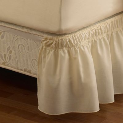 buy adjustable bed skirt from bed bath & beyond