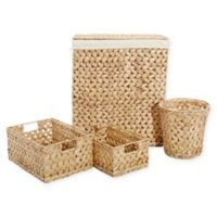 LaMont Home Harper 4-Piece Hamper and Basket Set