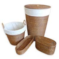Atlantic 4-Piece Hamper & Basket Set