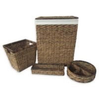 Montego Bay 4-Piece Hamper, Tray and Basket Set