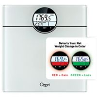 Ozeri® WeightMaster Bath Scale in White