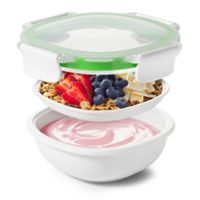 OXO Good Grips® Snack to Go 40 oz.Food Container in White