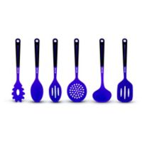 Art and Cook™ 6-Piece Silicone Kitchen Utensil and Tool Set in Purple