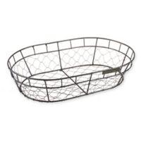 Bee & Willow™ Home Bread Basket/Hanger in Dark Grey
