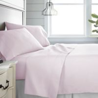 Home Collection 300-Thread-Count Deep-Pocket Queen Sheet Set in Blush