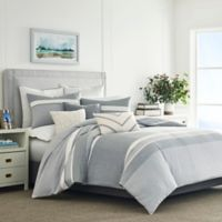 Nautica® Clearview Twin Duvet Cover Set in Grey