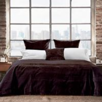 Frette At Home Realmonte King Quilt in Black