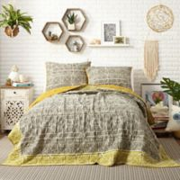Justina Blakeney by Makers Collective Pinta Reversible Full/Queen Quilt Set in Green