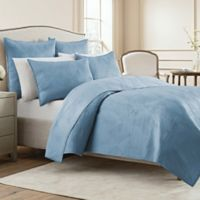 Wamsutta® Bliss King Coverlet in Light Blue