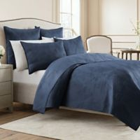 Wamsutta® Bliss King Coverlet in Denim