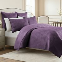 Wamsutta® Bliss King Coverlet in Purple