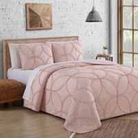 Addie Queen Quilt Set in Blush