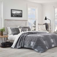 Eddie Bauer® Swiftwater Twin Quilt Set in Charcoal