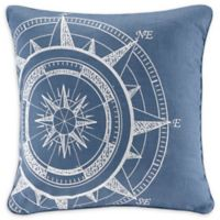 Harbor House™ Steer Embroidered Square Throw Pillow in Navy