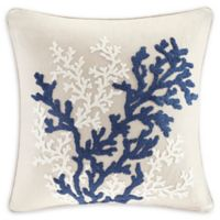 Harbor House™ Rift Coral Linen Square Throw Pillow in Linen