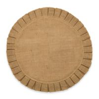 Bee & Willow™ Home Ruffled Edge Jute Placemat in Natural
