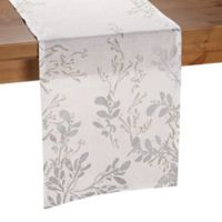 Olivia & Oliver Flora 72-Inch Table Runner in Silver