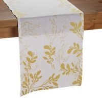 Olivia & Oliver Flora 72-Inch Table Runner in Gold