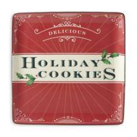 "Lenox® Holiday Vintage Treats™ ""Holiday Cookies"" Square Tray"