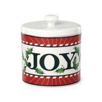 "Lenox® Holiday Vintage Treats™ ""Joy"" Canister"