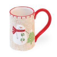 Boston International Comfort Snowman Coffee Mug
