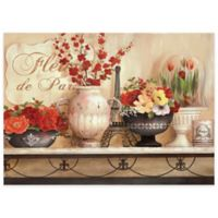 French Cafe Laminated Placemats in Taupe (Set of 4)