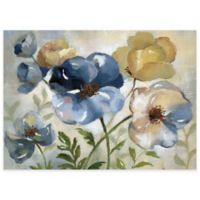 Watercolor Floral Laminated Placemats in Blue (Set of 4)