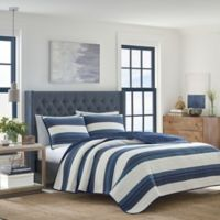 Nautica® Briars Twin Quilt in Navy