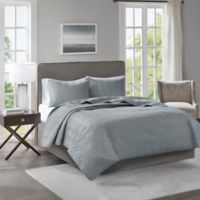 510 Designs Lucca Full/Queen Coverlet in Grey