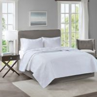 510 Designs Lucca Full/Queen Coverlet in White