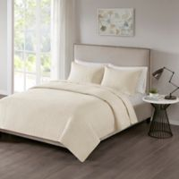 510 Designs Otto King/California King Coverlet in Ivory