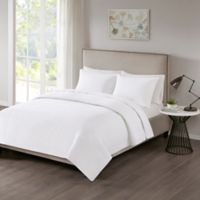 510 Designs Otto Full/Queen Coverlet in White