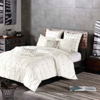 INK+IVY Masie 3-Piece Full/Queen Comforter Set in White