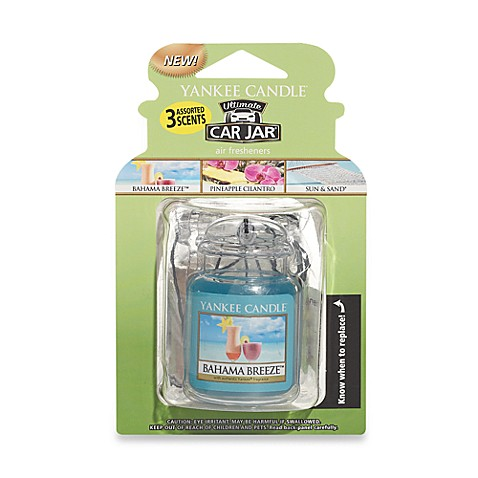 Yankee Candle 174 Car Jar 174 Ultimate Beach Vacation 3 Pack
