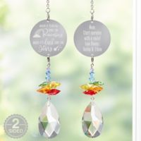 Personalized Inspiration From Above Rainbow Suncatcher