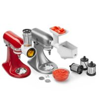 KitchenAid® 5-Quart Artisan™ Shredder and Grinder/Strainer Attachment Pack