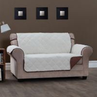 Innovative Textile Solutions Sinclair Sofa Slipcover in Chocolate
