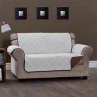 Innovative Textile Solutions Sinclair XL Sofa Slipcover in Chocolate