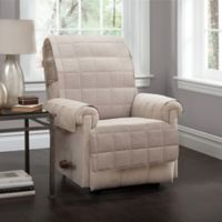 Innovative Textile Solutions Tyler Recliner Protector Slipcover in Natural