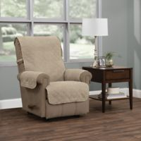 Ripple Plush Recliner Furniture Protector in Natural