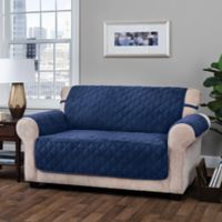 Innovative Textile Solutions Logan Sofa Slipcover in Navy