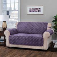 Innovative Textile Solutions Logan Sofa Slipcover in Grape