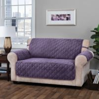 Innovative Textile Solutions Logan Loveseat Protector Slipcover in Grape