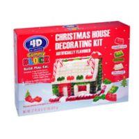 Gummy Block Christmas House Decorating Kit