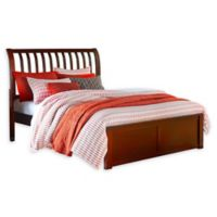Hillsdale Furniture Pulse King Rake Sleigh Bed in Cherry