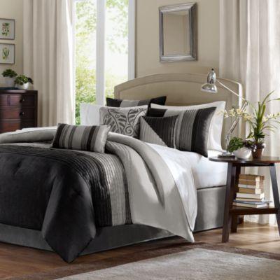 buy black queen bed comforter sets from bed bath & beyond