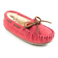 Minnetonka® Size 10 Cassie Kid's Slippers in Hot Pink